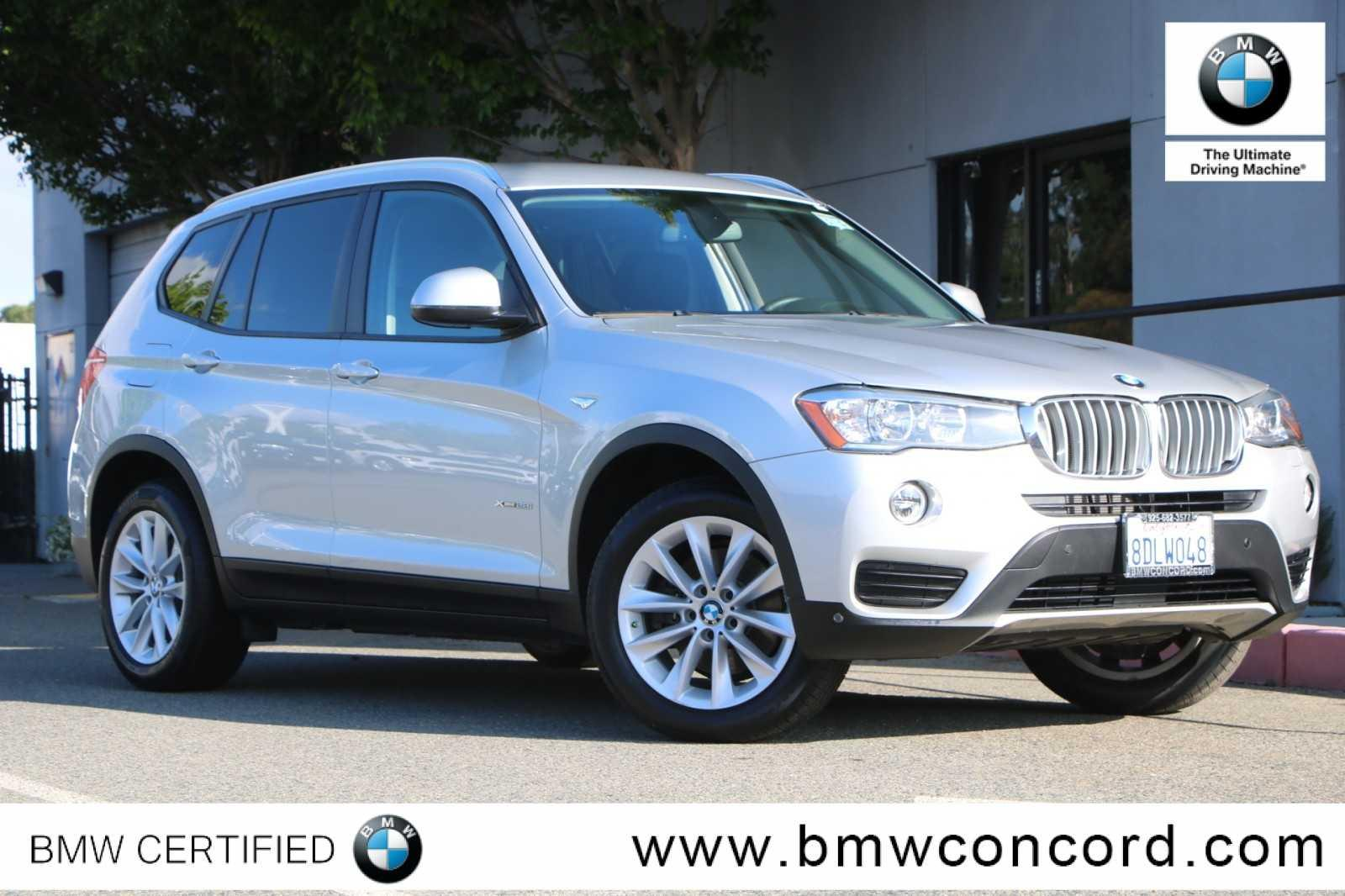 Certified Pre-Owned 2016 BMW X3 AWD 4dr xDrive28i
