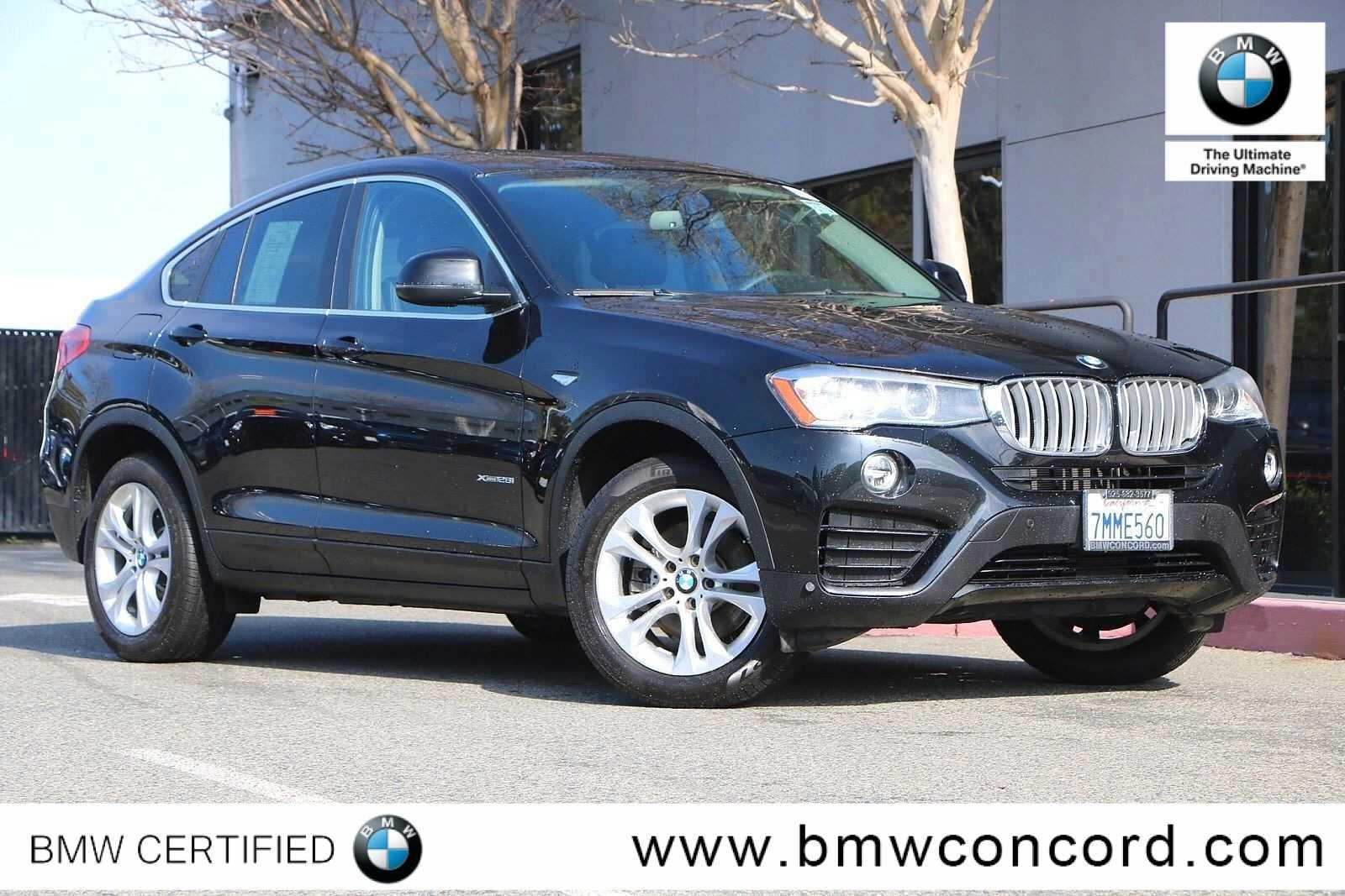 Certified Pre-Owned 2016 BMW X4 AWD 4dr xDrive28i