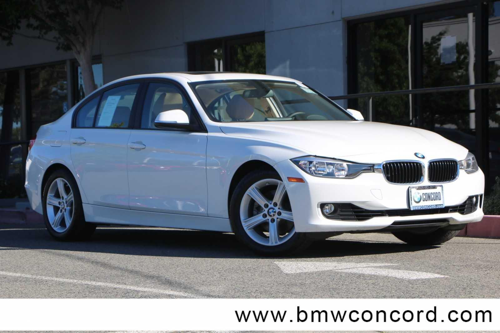 Pre-Owned 2015 BMW 3 Series 4dr Sdn 328i RWD SULEV