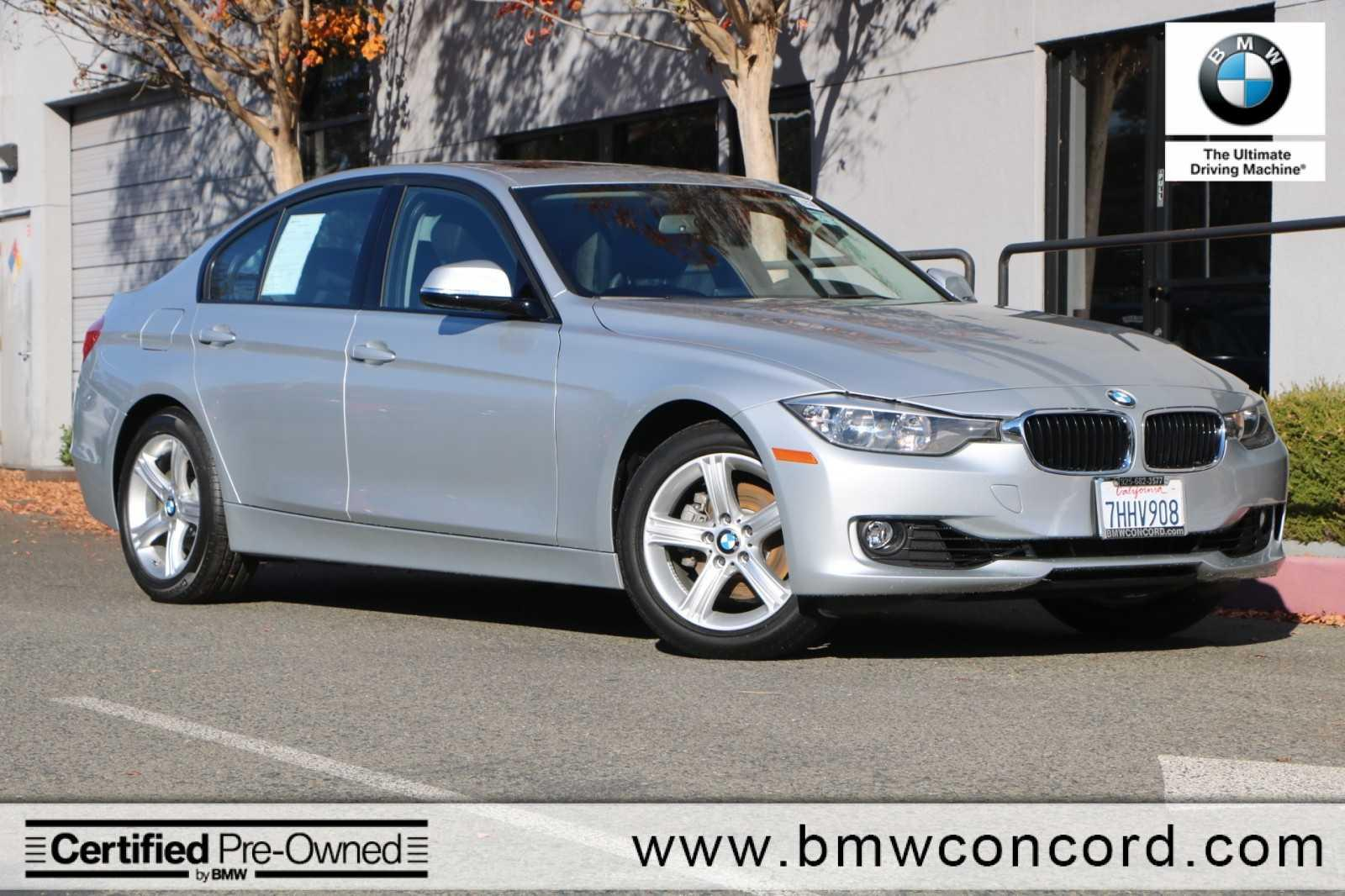 Certified Pre-Owned 2015 BMW 3 Series 4dr Sdn 328i RWD SULEV