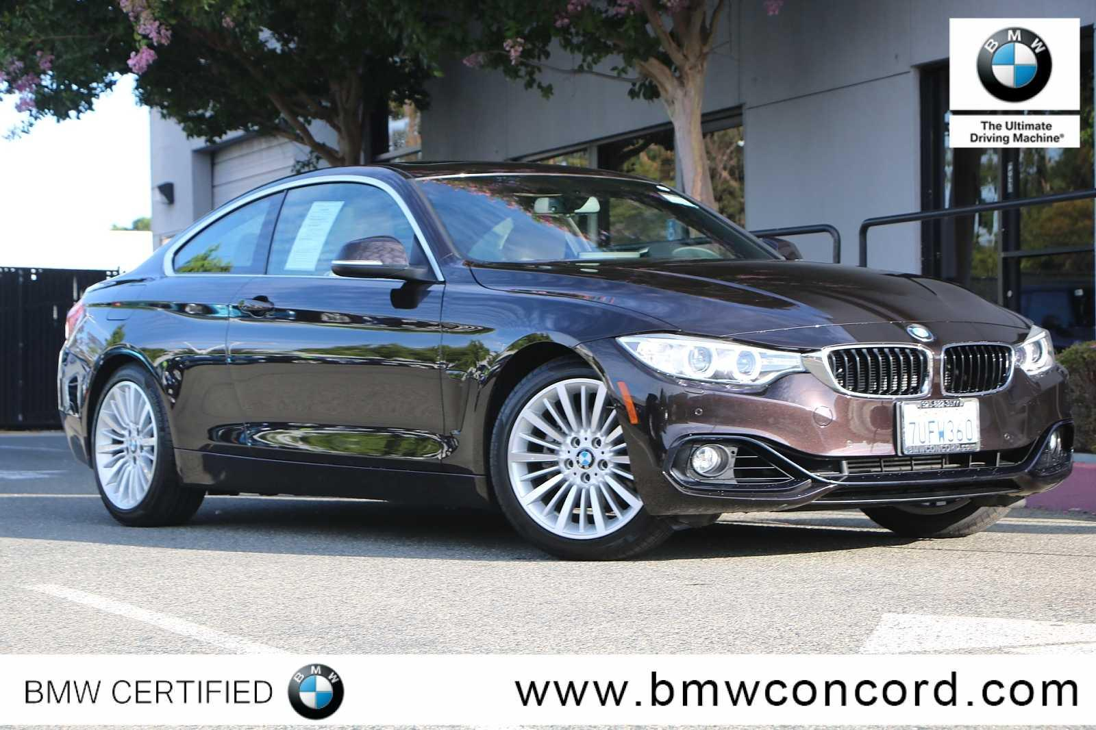 Bmw Certified Pre Owned >> Certified Pre Owned 2016 Bmw 4 Series 2dr Cpe 428i Rwd Sulev Rwd 2dr Car
