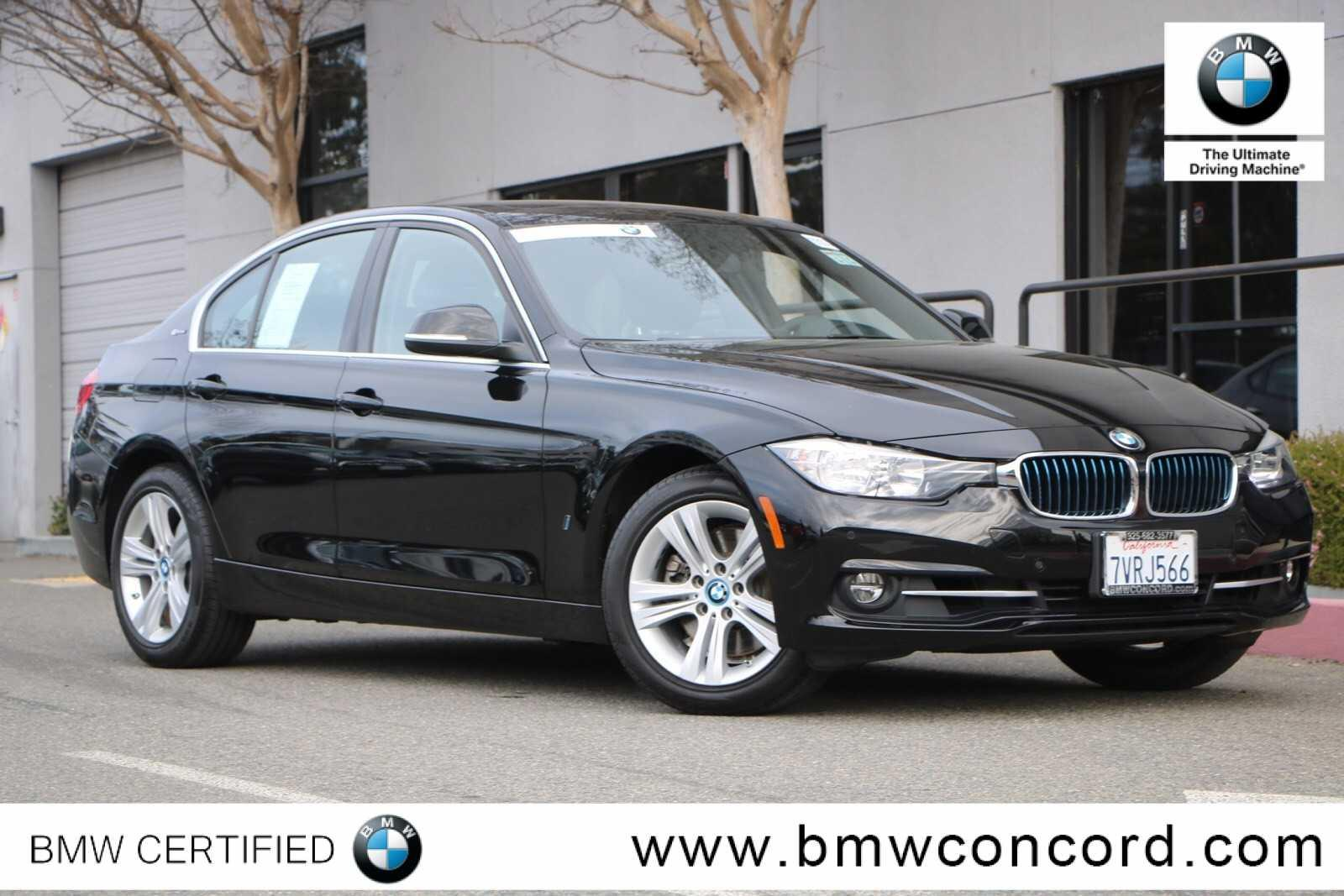Certified Pre Owned 2017 Bmw 3 Series 330e Iperformance Plug In Hybrid