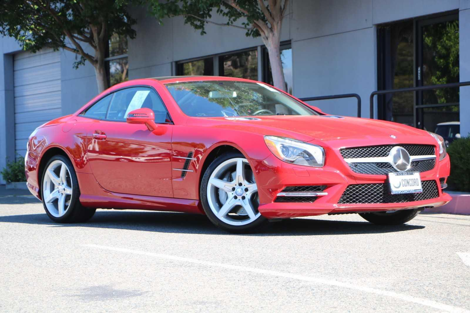 Pre-Owned 2013 Mercedes-Benz SL-Class 2dr Roadster SL 550