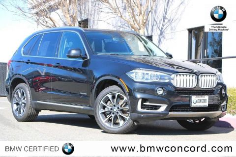 Certified Pre-Owned 2015 BMW X5 AWD 4dr xDrive50i