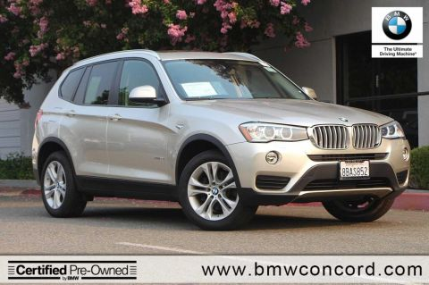 Certified Pre Owned 2015 BMW X3 AWD 4dr XDrive35i