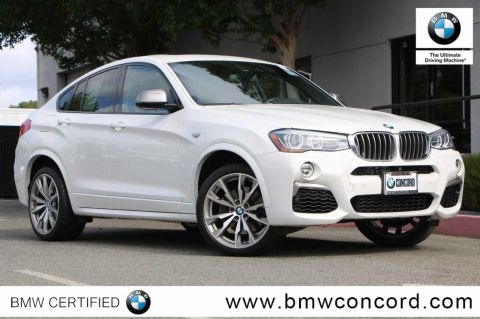 Certified Pre-Owned 2016 BMW X4 AWD 4dr M40i