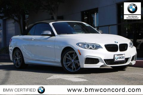 Certified Pre-Owned 2016 BMW 2 Series 2dr Conv M235i RWD