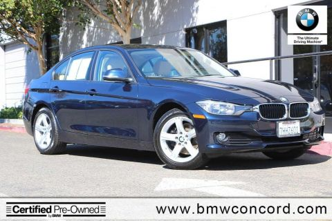 Certified Pre-Owned 2015 BMW 3 Series 4dr Sdn 320i RWD