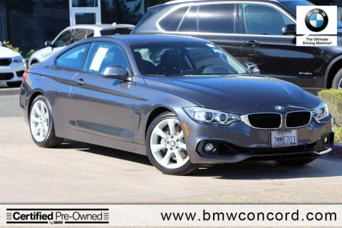 Certified Pre-Owned 2015 BMW 4 Series 2dr Cpe 435i RWD