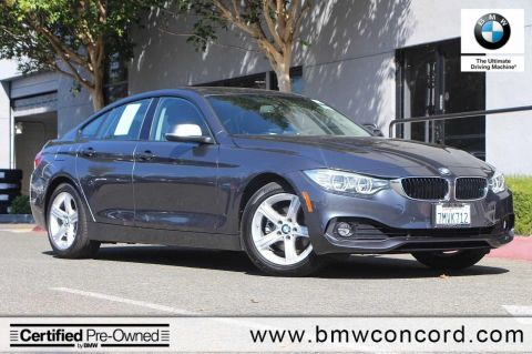 Certified Pre-Owned 2015 BMW 4 Series 4dr Sdn 428i RWD Gran Coupe SULEV