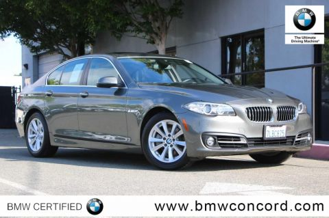 Certified Pre-Owned 2015 BMW 5 Series 4dr Sdn 528i RWD