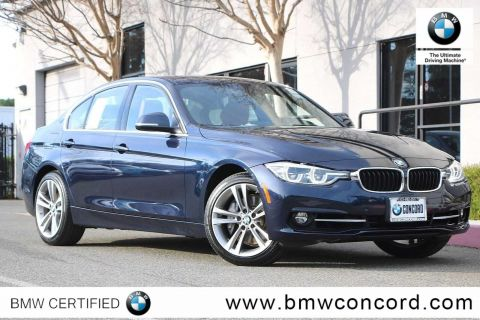 Certified Pre-Owned 2016 BMW 3 Series 4dr Sdn 340i RWD