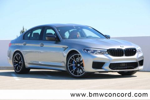 New 2019 BMW M5 Competition Sedan